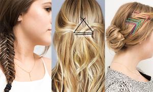Thay đổi kiểu tóc mới lạ trong vài phút với kẹp tăm