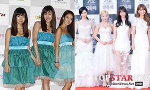 Quá trình lột xác từ quê mùa đến sang chảnh của girl group Hàn