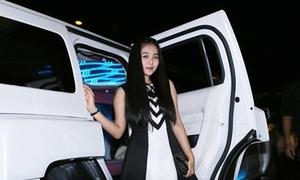 Tam Triều Dâng đi dự sự kiện bằng xế hộp 'sang chảnh'