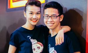 Em trai Thanh Hằng diện đồ đôi cùng chị