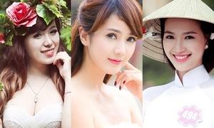 Điểm danh những hot girl Việt đình đám cầm tinh con Dê