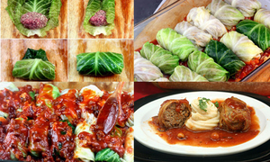 Món ngon cuối tuần: Bắp cải cuộn thịt sốt cà chua