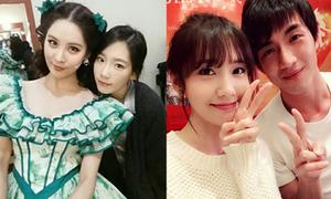 Sao Hàn 13/2: Yoon Ah vui vẻ bên trai đẹp Trung Quốc, Tae Yeon bị chê 'dừ'