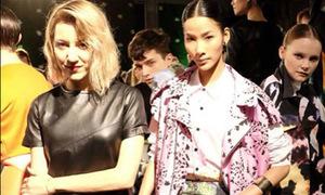 Hoàng Thùy đẳng cấp bên mẫu ngoại tại New York Fashion Week