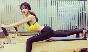 Ngắm đường cong khó rời mắt của mỹ nữ chân dài xứ Hàn