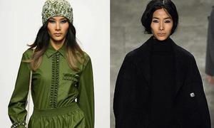 Hoàng Thùy phủ sóng dày đặc tại New York Fashion Week