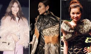 Dàn sao Việt và châu Á xúng xính đồ hiệu dự New York Fashion Week