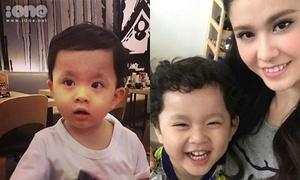 Loạt ảnh siêu đáng yêu của con trai Trương Quỳnh Anh