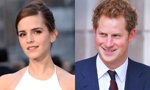 Emma Watson bị đồn hẹn hò với hoàng tử Harry