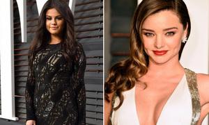 Selena già như thiếu phụ, Miranda Kerr gợi cảm hút hồn dự tiệc hậu Oscar