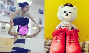 Sao Việt 26/2: Chi Pu tập nhảy như diễn xiếc, Phở thích chơi gấu bông