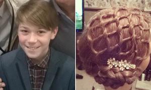 Nhà tạo mẫu tóc 11 tuổi gây sửng sốt với nhiều kiểu đầu đẹp long lanh