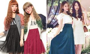 3 cặp chị em hot girl châu Á nổi tiếng xì tai, bán shop đắt hàng