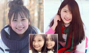 Hai chị em du học sinh Nga đáng yêu chẳng kém hot girl