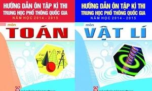 Bộ Giáo dục yêu cầu không phổ biến Sách 'Hướng dẫn ôn tập thi THPT quốc gia'