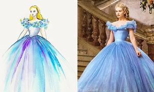 Phim 'Cinderella' mê hoặc teen với váy áo lộng lẫy