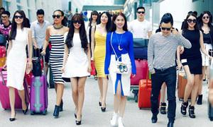 Sao Việt 16/3: Ngọc Trinh cùng dàn 'gà cưng' Khắc Tiệp náo loạn sân bay