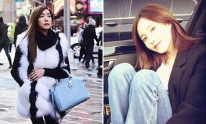 Tiffany diện đồ sang chảnh, Park Shin Hye giản dị đáng yêu