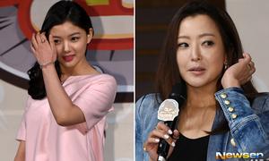 Kim Yoo Jung mũm mĩm, Kim Hee Sun lộ mặt lệch