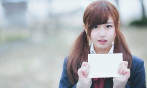 Nữ sinh Nhật khiến dân mạng xao xuyến với chuyện tình yêu 'gà bông'
