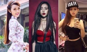 5 hot girl Việt có bé bi vẫn xinh 'mòn con mắt'