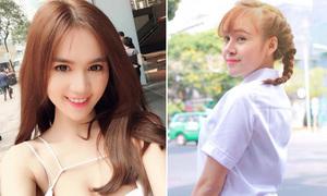 Sao Việt 21/3: Ngọc Trinh bị nghi gọt cằm, Bà Tưng lộ... đầu hói