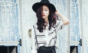 Nàng mẫu Hà thành 19 tuổi đắt show chụp shop thời trang