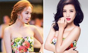 Xì ta, hot girl Việt so gu thẩm mỹ khi đụng hàng váy áo