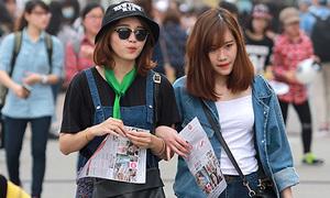 Teen Hà thành khoe style ấn tượng xem Music Bank