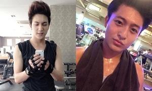 Những hot boys Việt không ngại khoe body trong phòng gym