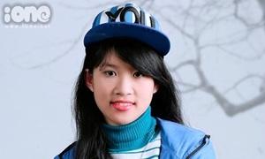 Lan Hương - cô nàng không thích mặc váy, mơ làm cảnh sát
