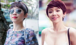 Mái tóc tém 'chải kiểu gì cũng đẹp' của Tóc Tiên