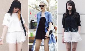 Giới trẻ Sài thành khoe street style mát mẻ đáng thèm