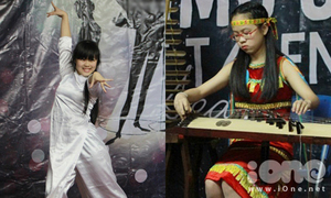 Nữ sinh Lomonoxop mặc áo dài dance sport cực sung
