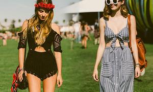 Teen Mỹ mặc gì đối phó nắng nóng như đổ lửa?