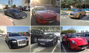 Bãi đậu xe như salon ô tô ở trường đại học 'con nhà giàu'