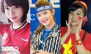 3 fan nữ xinh đẹp yêu 3 'đại gia bóng đá Anh'