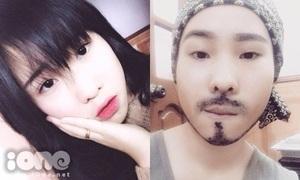 Thiếu nữ Tuyên Quang giả trai Tây, 'nuôi' râu ria cực nuột