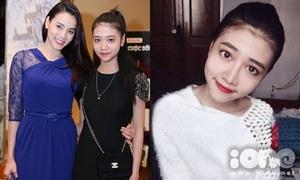 Cháu gái Trang Nhung: 16 tuổi, cao 1m70, dáng chuẩn như người mẫu