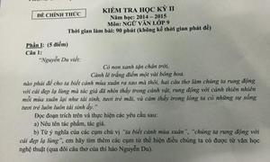 Giáo viên bức xúc về đề thi Ngữ văn 'gài bẫy' học sinh