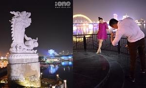 'Check-in' tượng Cá chép hóa rồng - điểm pose ảnh đang hot của teen Đà Nẵng