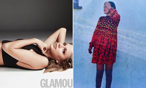 Sao US-UK 24/4: Taylor Swift khoe nội y, Selena Gomez mặc váy bầu