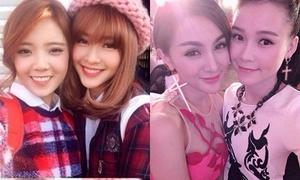 4 tình bạn dính nhau như sam trong giới hot girl Việt