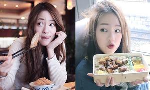 Hot girl Thái đốn đổ loạt fan boy với vẻ đáng yêu khi ăn