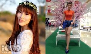 Cô giáo 1m76, chân dài miên man được trò ủng hộ thi model