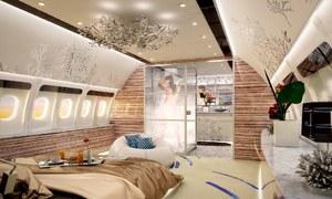 Choáng váng với nội thất siêu xa xỉ của những chiếc phi cơ dành cho giới siêu giàu