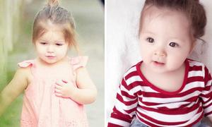 Con gái Elly Trần ngày càng giống Harper Beckham