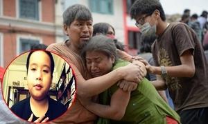 Đỗ Nhật Nam làm thơ cầu nguyện cho người dân Nepal sau động đất