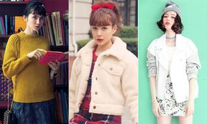 3 nàng mẫu lai Nhật Bản xinh hút hồn như búp bê
