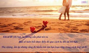 Lắng lòng với những status hay về tình yêu 12